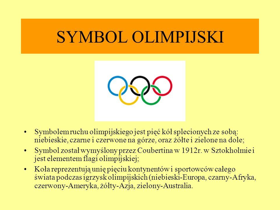 SYMBOL OLIMPIJSKI