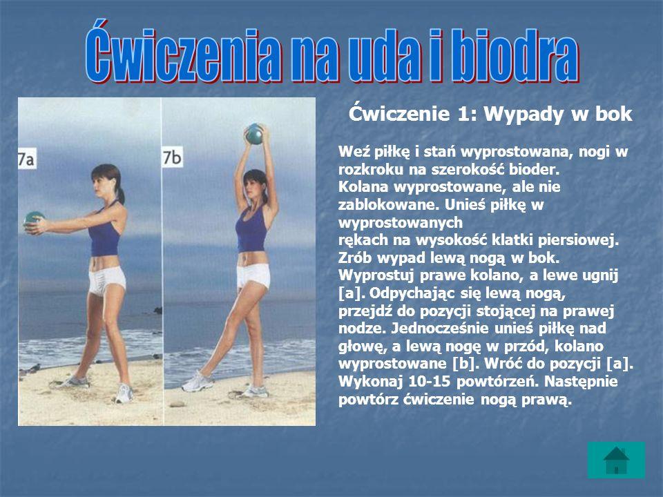 Ćwiczenia na uda i biodra