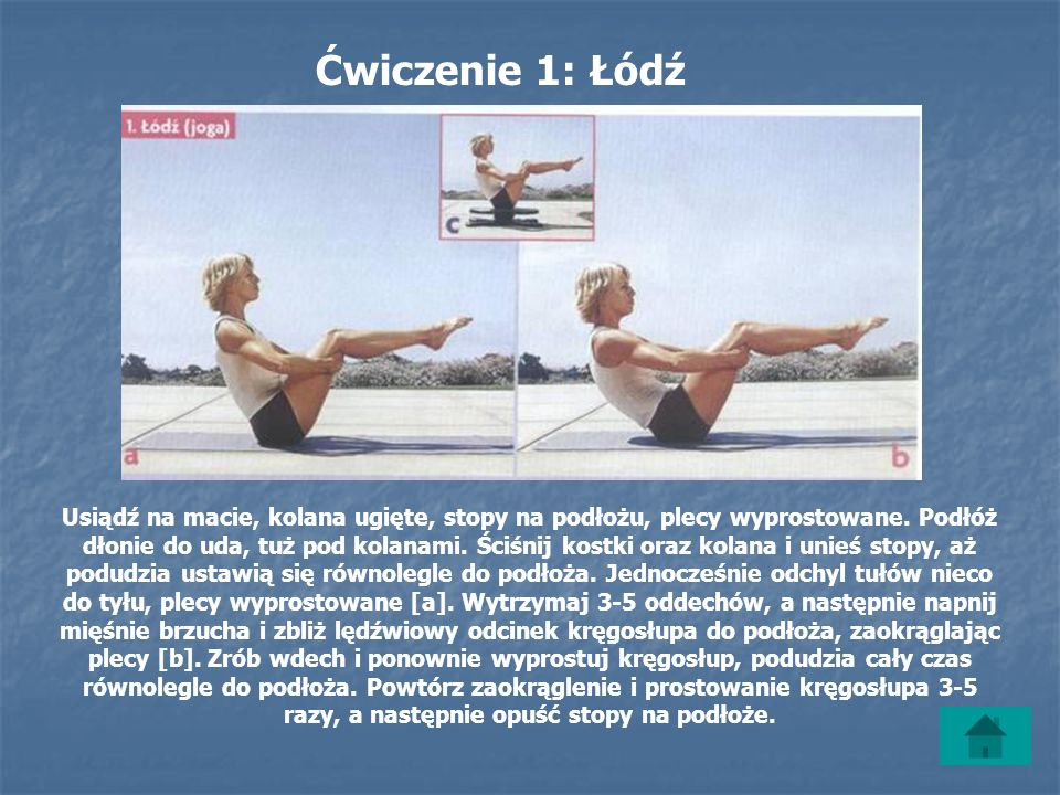 Ćwiczenie 1: Łódź