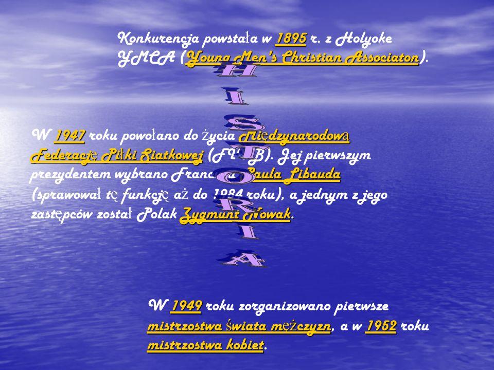 Konkurencja powstała w 1895 r