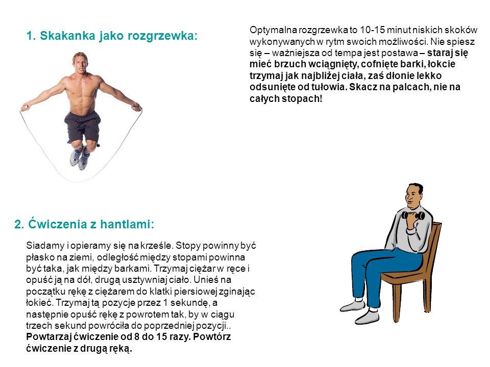 1. Skakanka jako rozgrzewka: