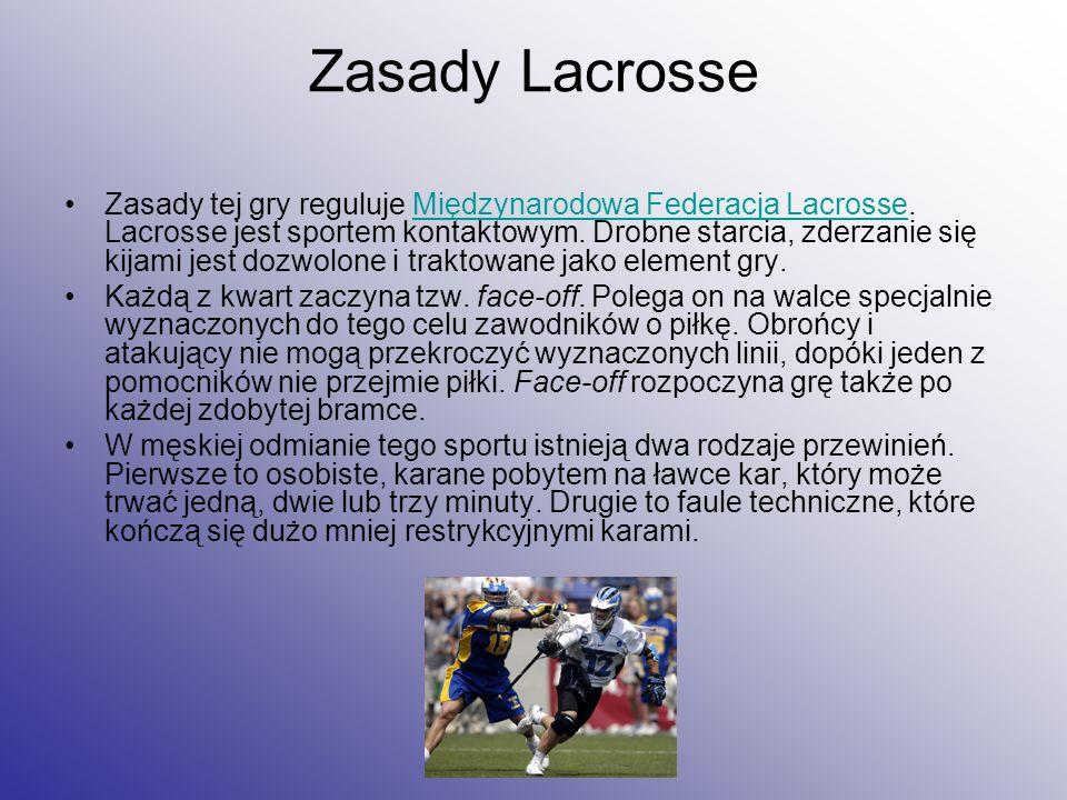 Zasady Lacrosse