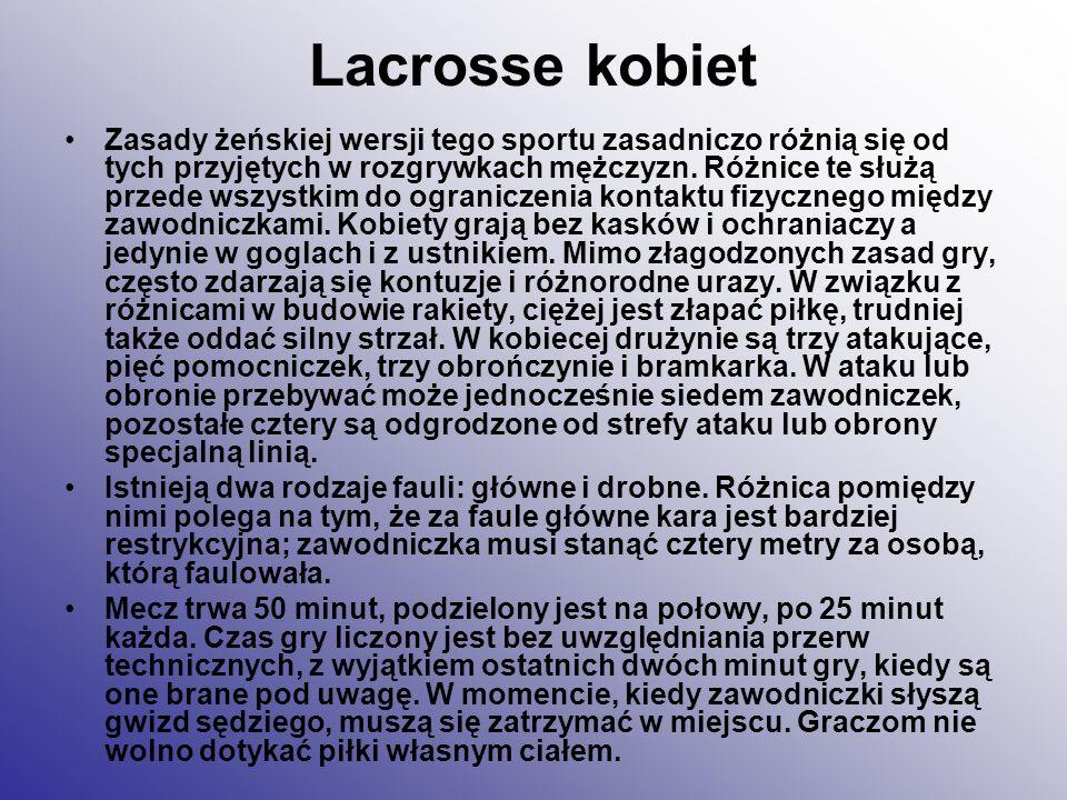 Lacrosse kobiet