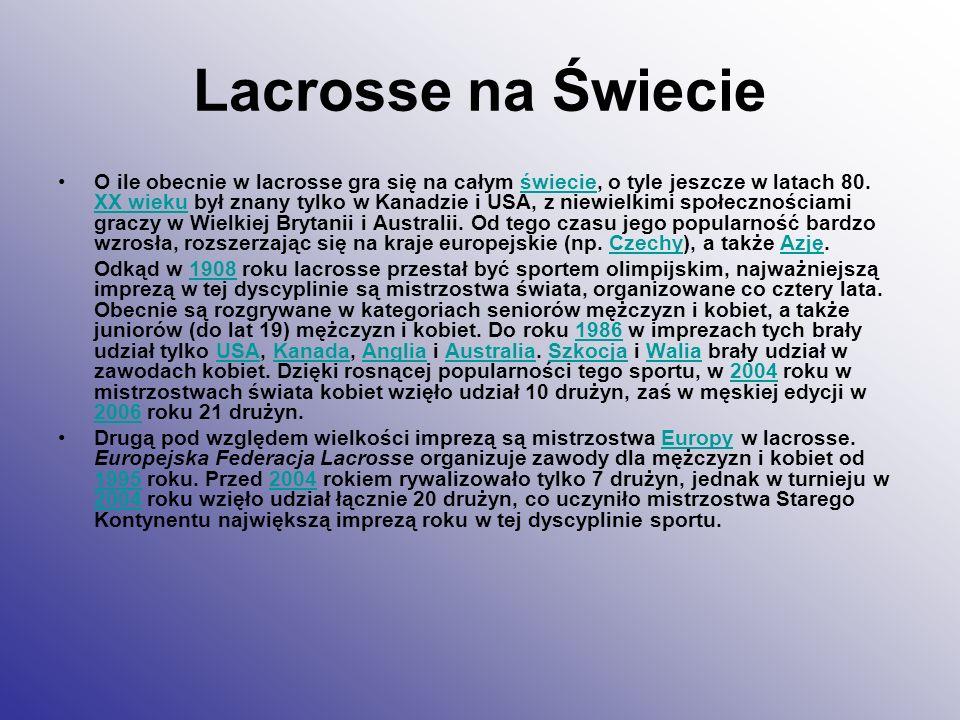 Lacrosse na Świecie