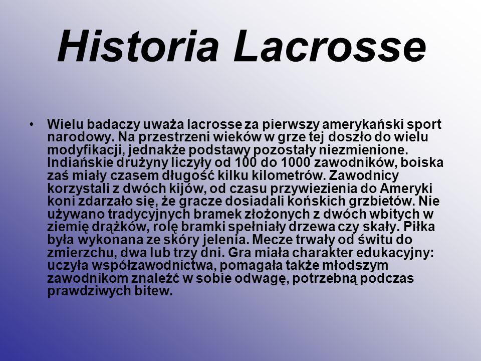 Historia Lacrosse