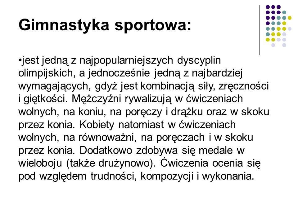 Gimnastyka sportowa: