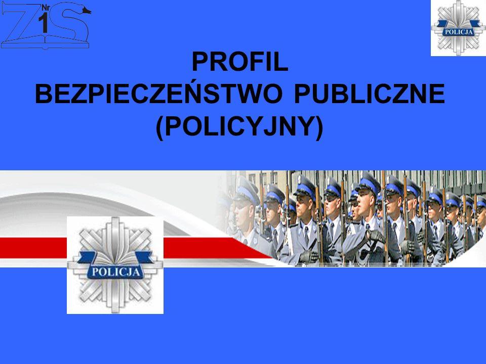 PROFIL BEZPIECZEŃSTWO PUBLICZNE (POLICYJNY)
