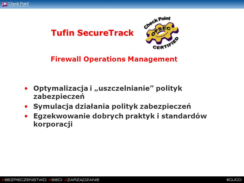 Tufin SecureTrack Firewall Operations Management