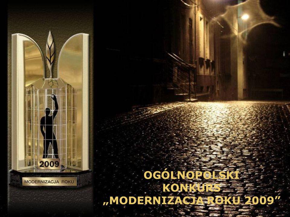 "OGÓLNOPOLSKI KONKURS ""MODERNIZACJA ROKU 2009"