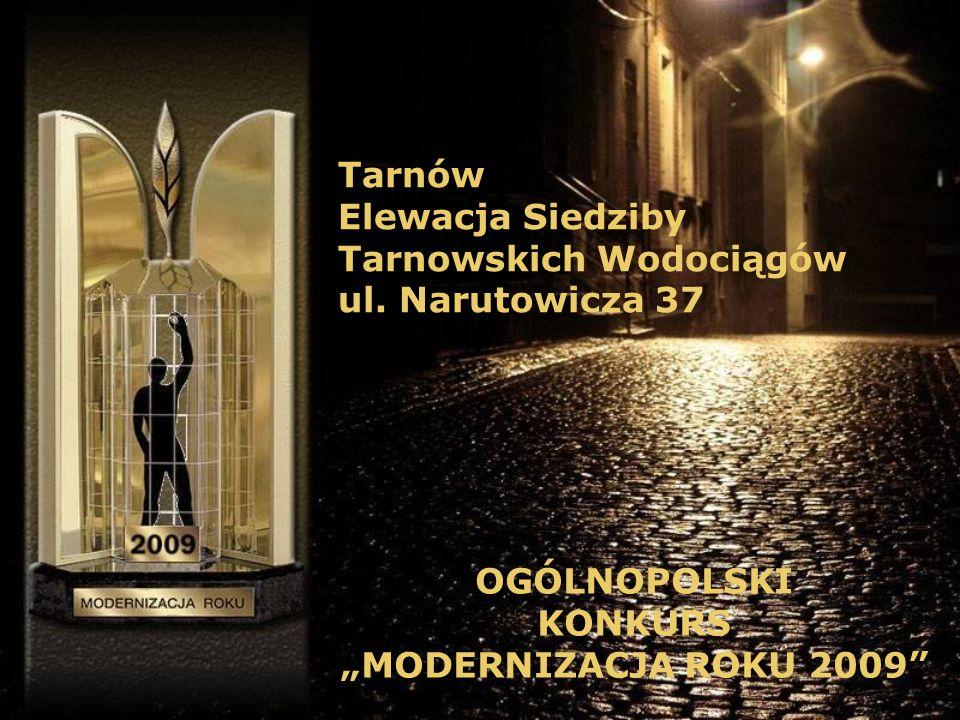 Tarnów Elewacja Siedziby. Tarnowskich Wodociągów.