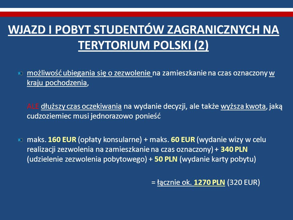 WJAZD I POBYT STUDENTÓW ZAGRANICZNYCH NA TERYTORIUM POLSKI (2)