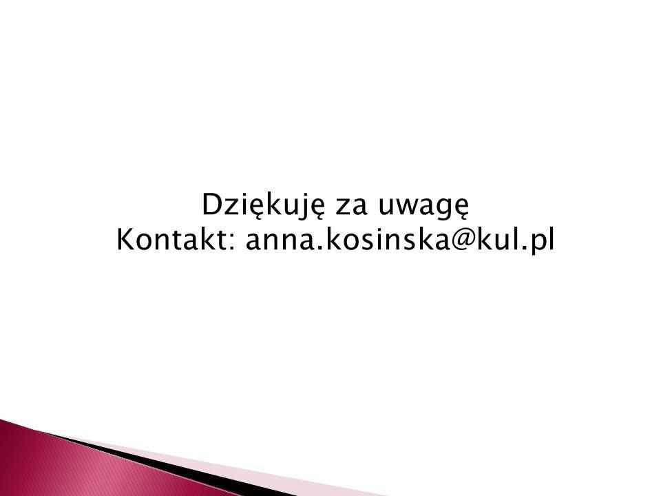 Kontakt: anna.kosinska@kul.pl