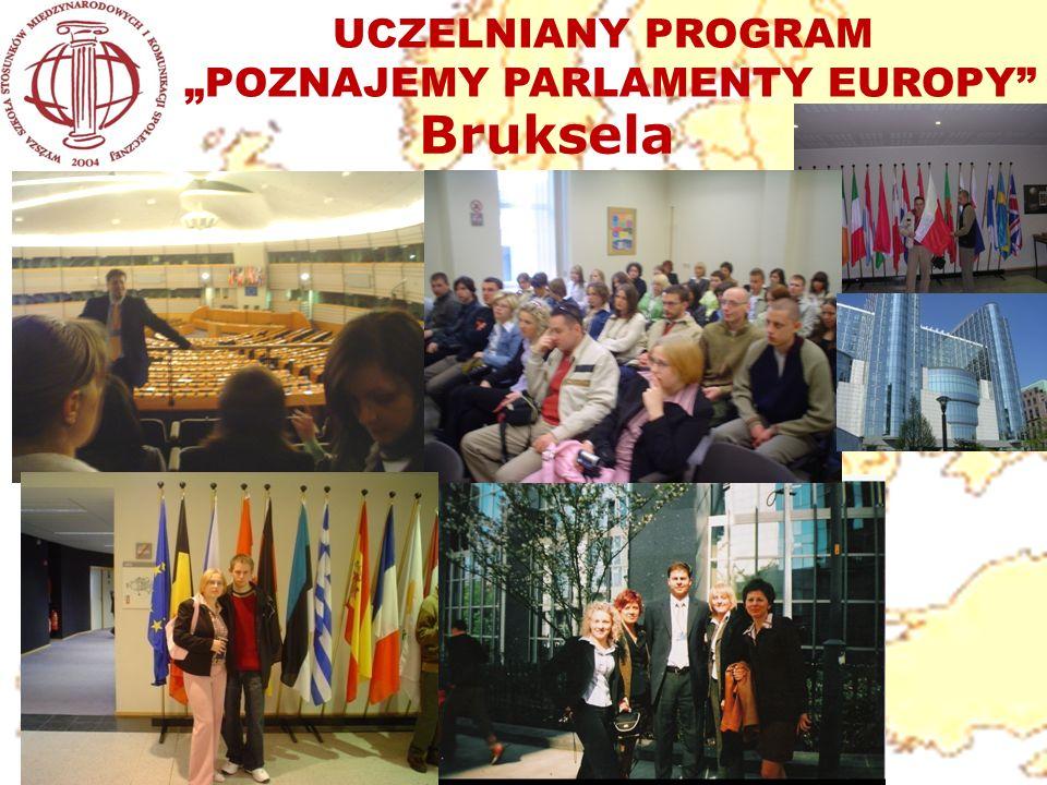 "UCZELNIANY PROGRAM ""POZNAJEMY PARLAMENTY EUROPY"