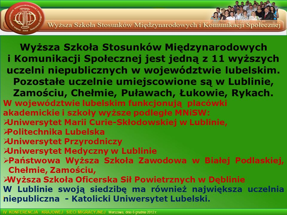 Wyższa Szkoła Stosunków Międzynarodowych