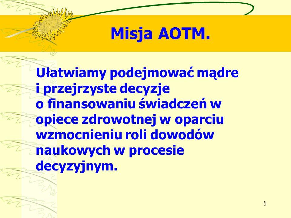 Misja AOTM.