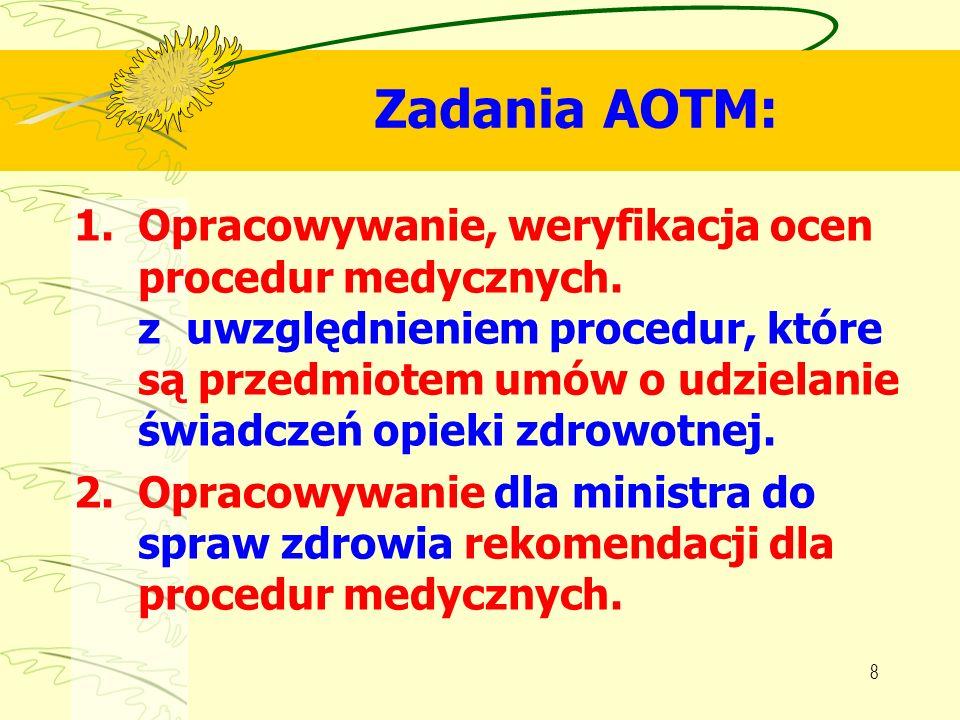 Zadania AOTM: