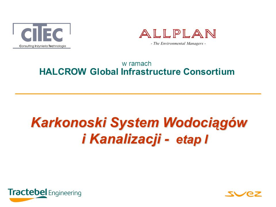 Karkonoski System Wodociągów i Kanalizacji - etap I