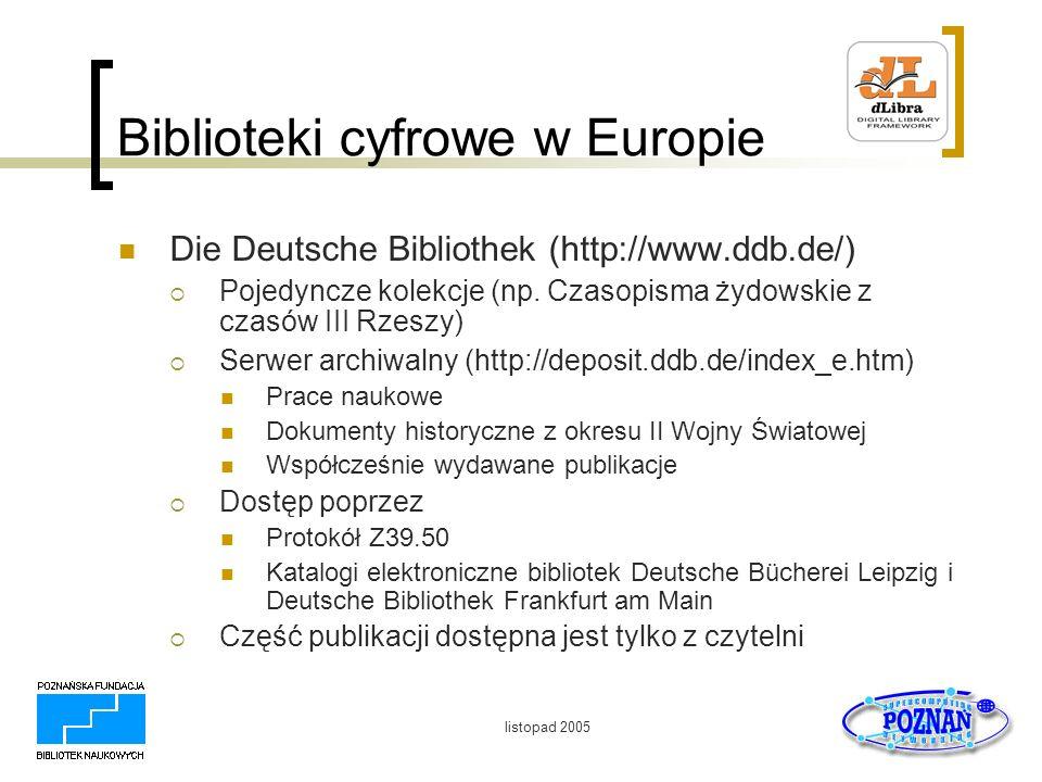 Biblioteki cyfrowe w Europie