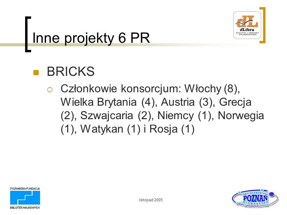 Inne projekty 6 PR BRICKS