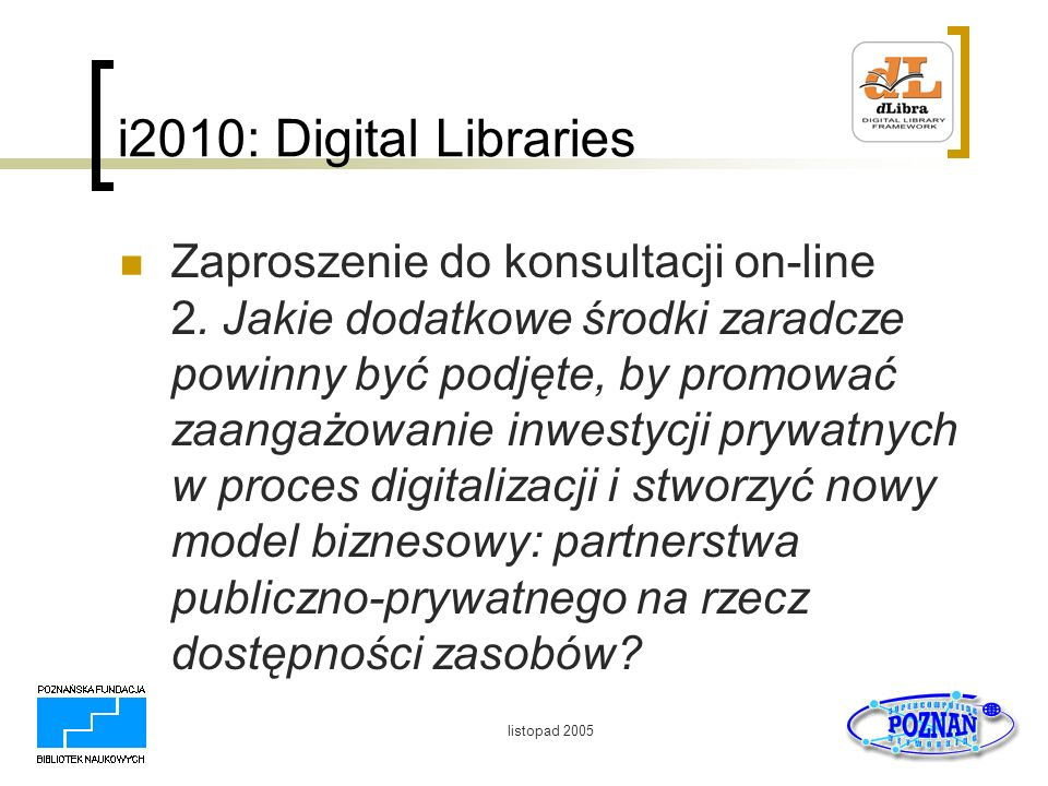 i2010: Digital Libraries