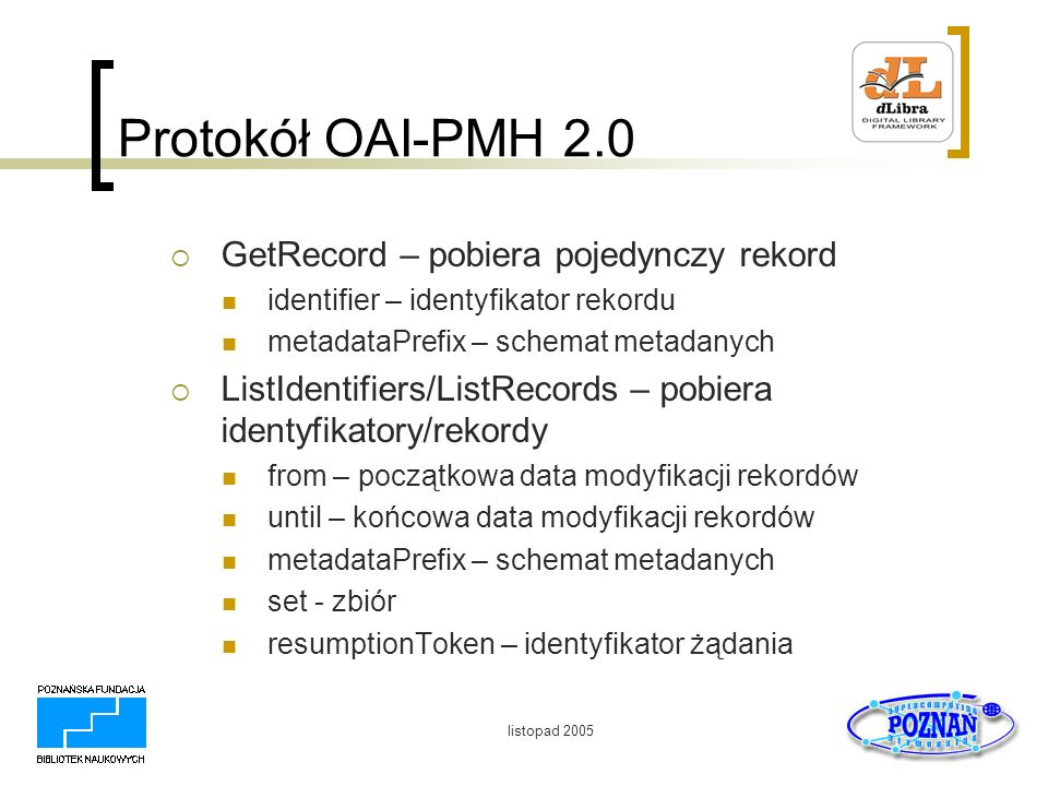 Protokół OAI-PMH 2.0 GetRecord – pobiera pojedynczy rekord