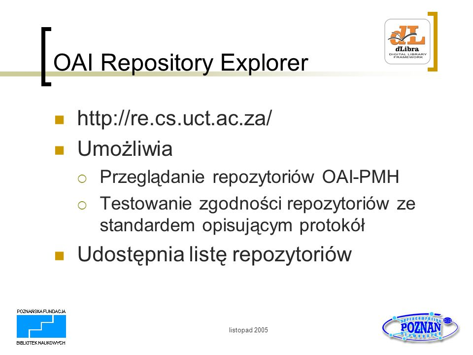OAI Repository Explorer