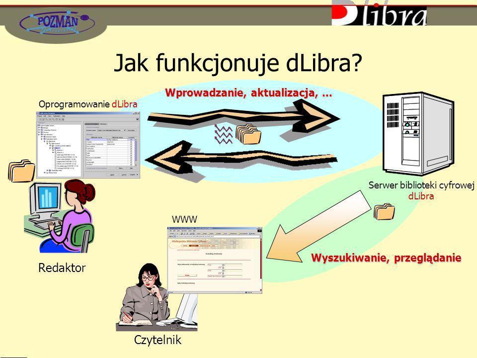 Jak funkcjonuje dLibra