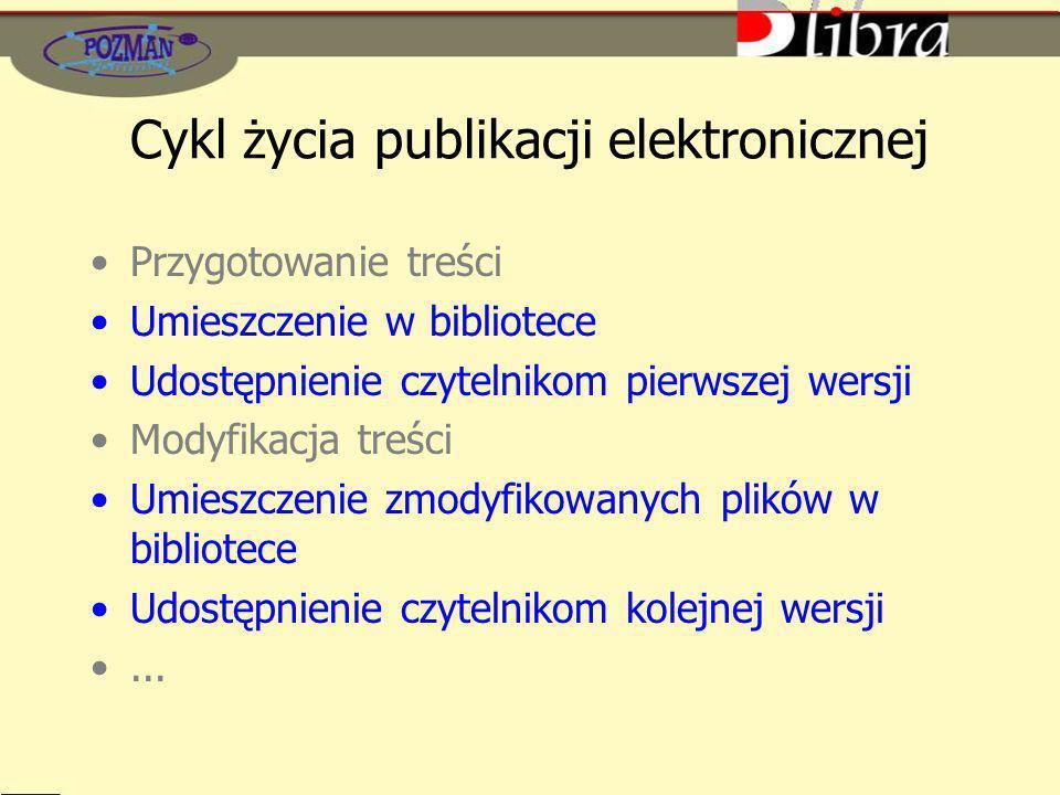 Cykl życia publikacji elektronicznej