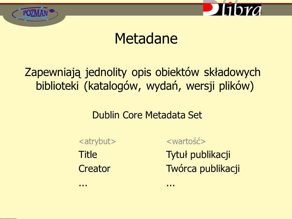 Dublin Core Metadata Set
