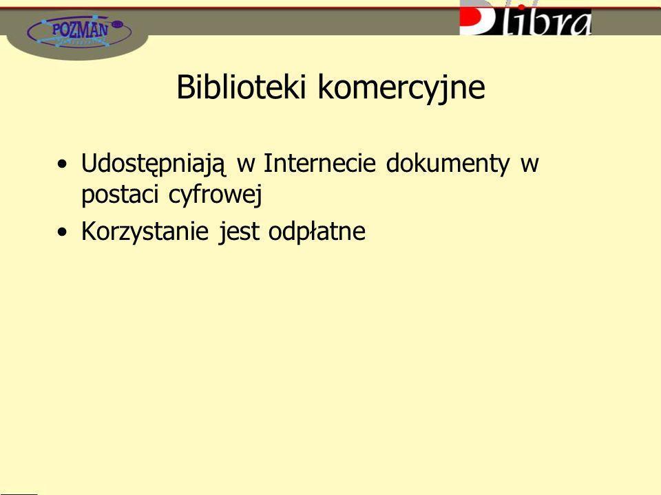 Biblioteki komercyjne