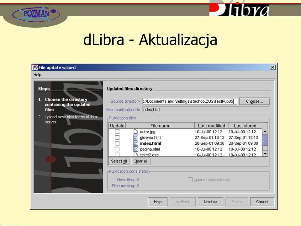 dLibra - Aktualizacja