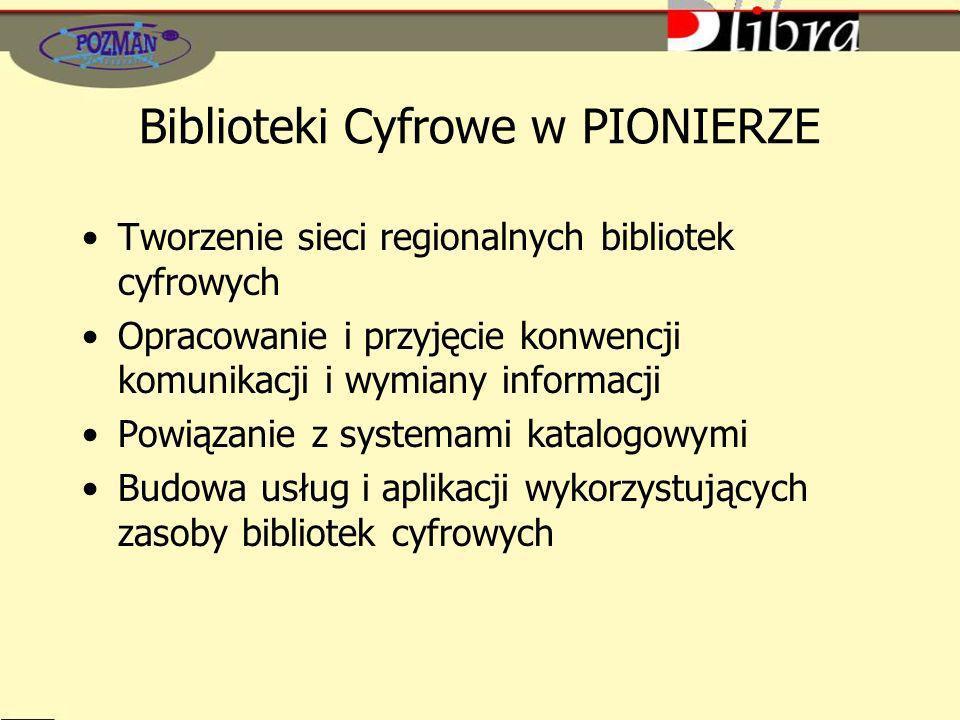 Biblioteki Cyfrowe w PIONIERZE