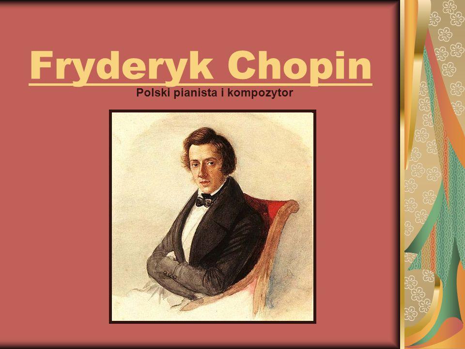 Polski pianista i kompozytor