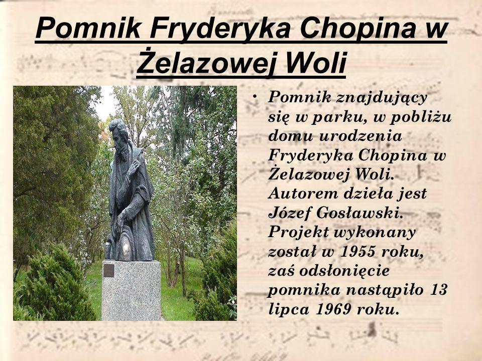 Pomnik Fryderyka Chopina w Żelazowej Woli