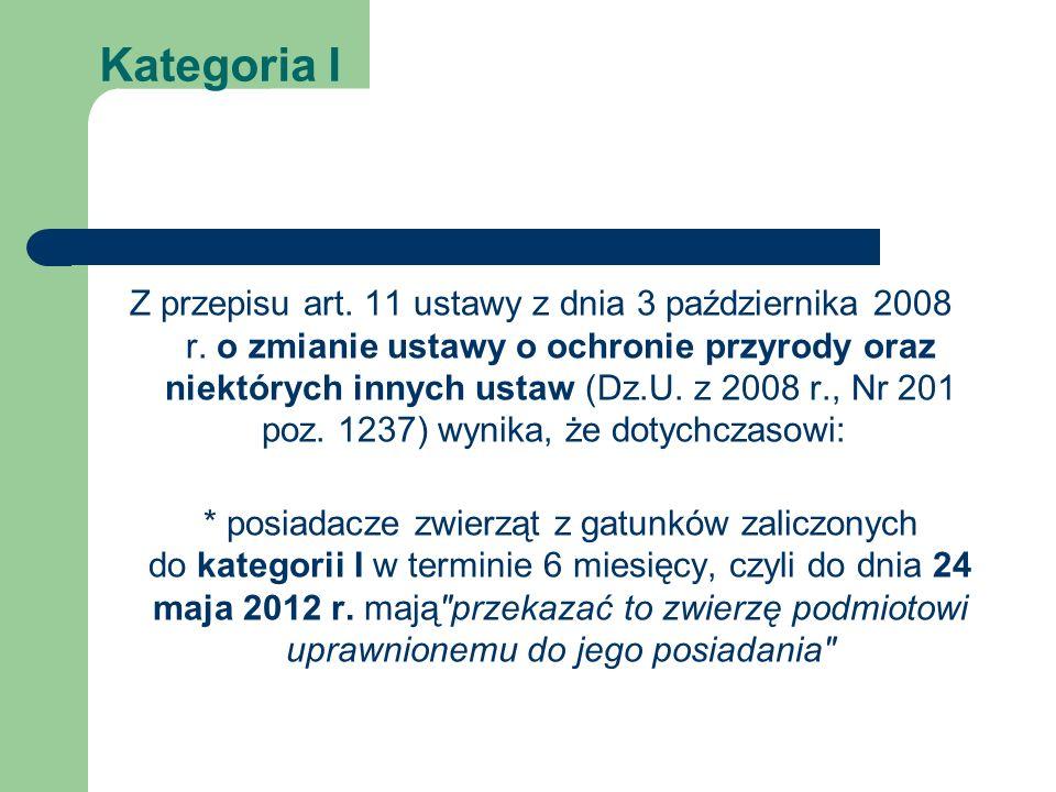 Kategoria I