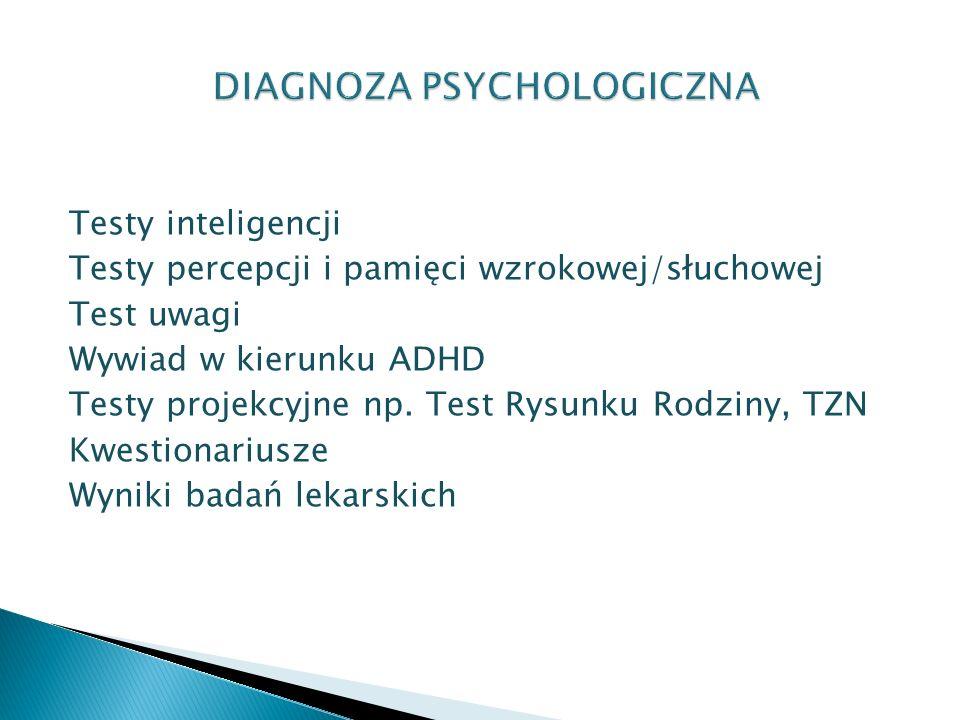 DIAGNOZA PSYCHOLOGICZNA