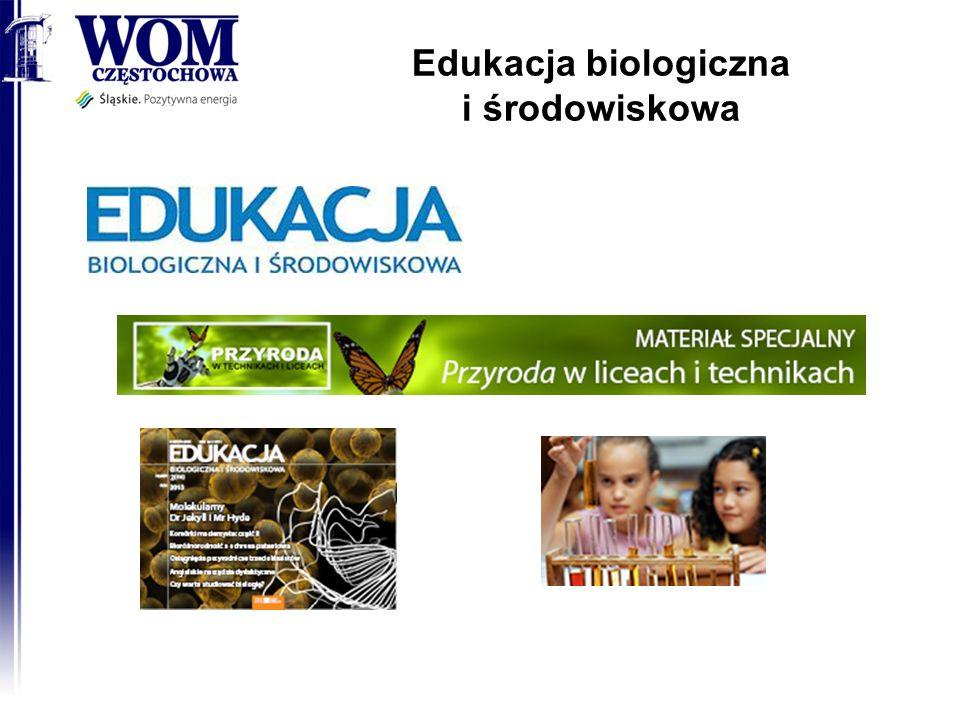 Edukacja biologiczna i środowiskowa