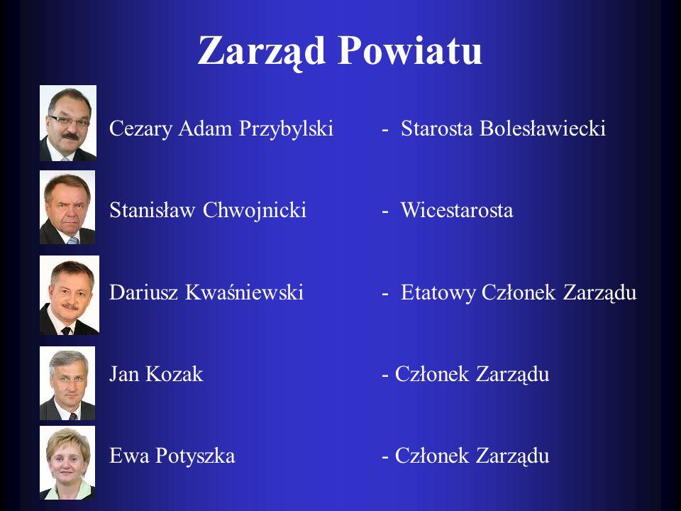 Zarząd Powiatu Cezary Adam Przybylski - Starosta Bolesławiecki