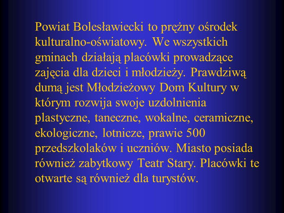 Powiat Bolesławiecki to prężny ośrodek kulturalno-oświatowy