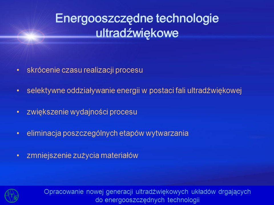Energooszczędne technologie ultradźwiękowe