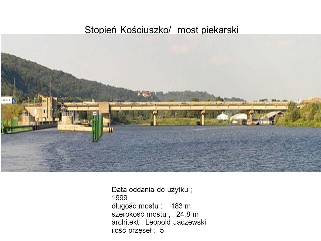 Stopień Kościuszko/ most piekarski