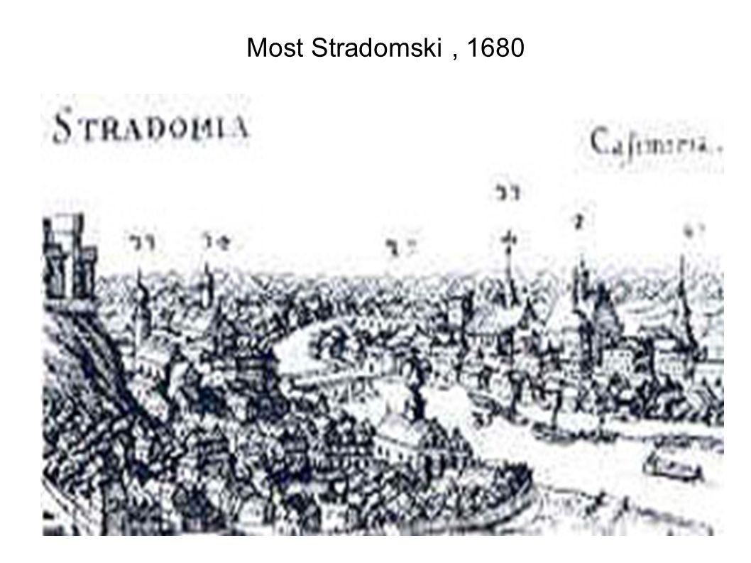 Most Stradomski , 1680
