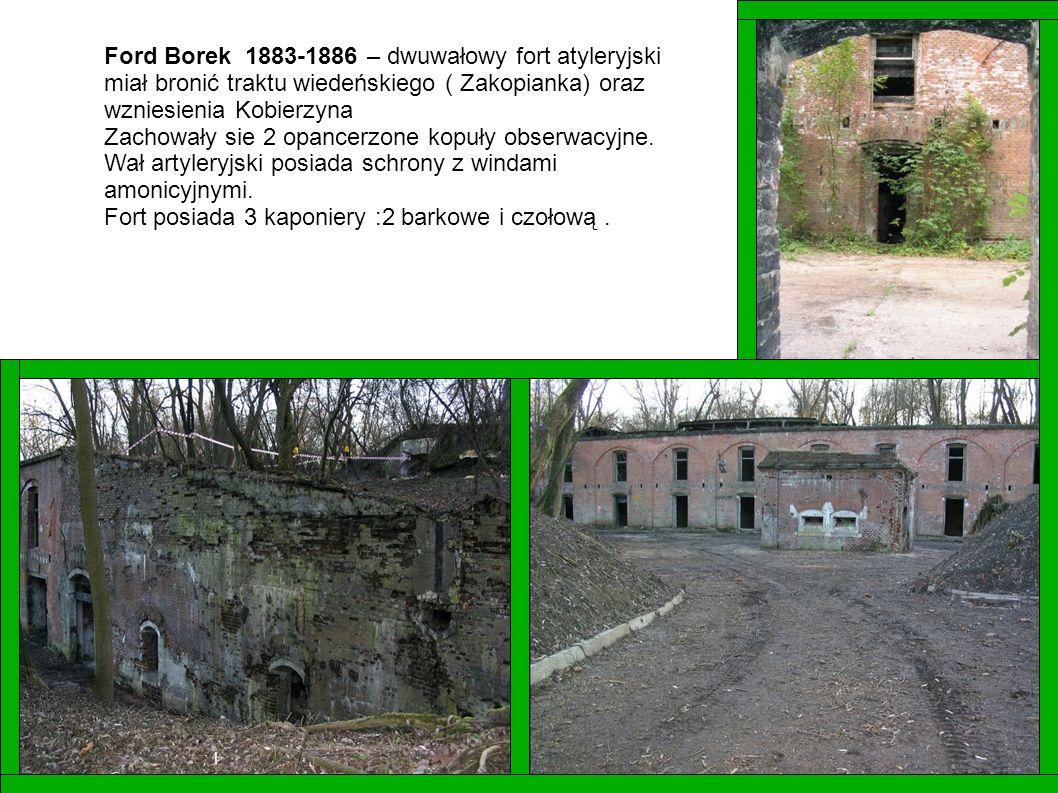 Ford Borek 1883-1886 – dwuwałowy fort atyleryjski