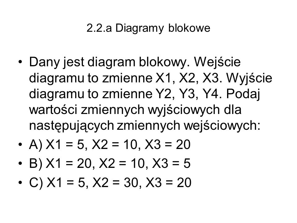 2.2.a Diagramy blokowe
