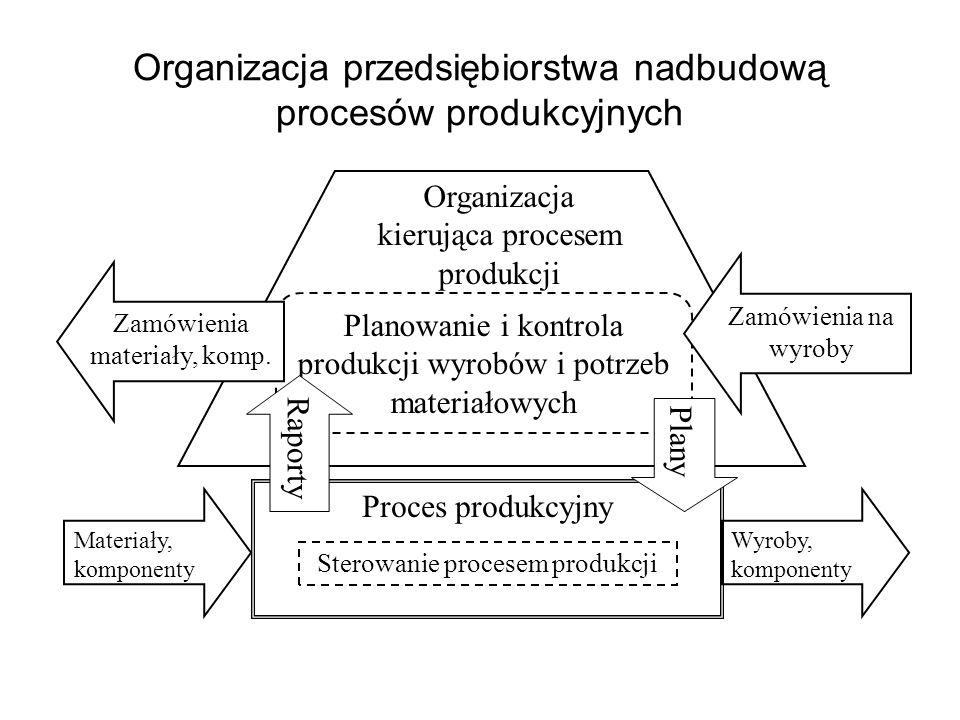 Organizacja przedsiębiorstwa nadbudową procesów produkcyjnych