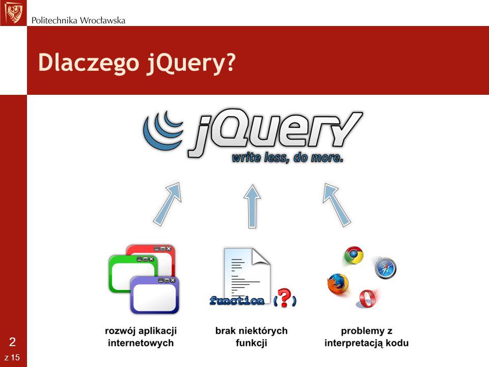 Dlaczego jQuery