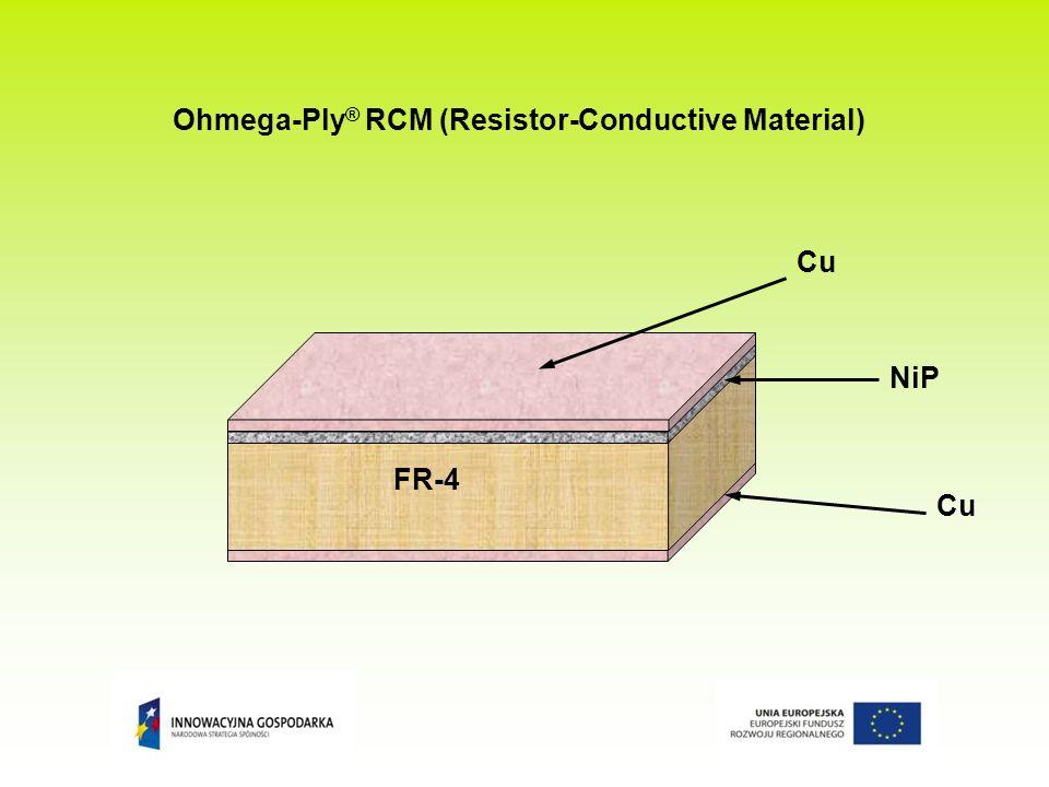 Ohmega-Ply® RCM (Resistor-Conductive Material)
