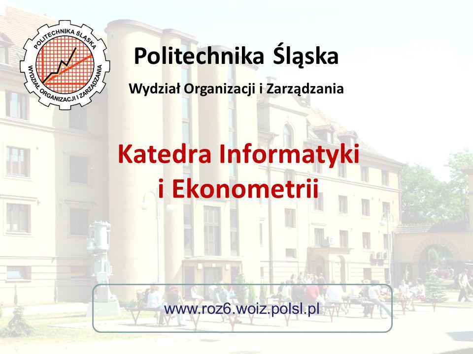 Katedra Informatyki i Ekonometrii