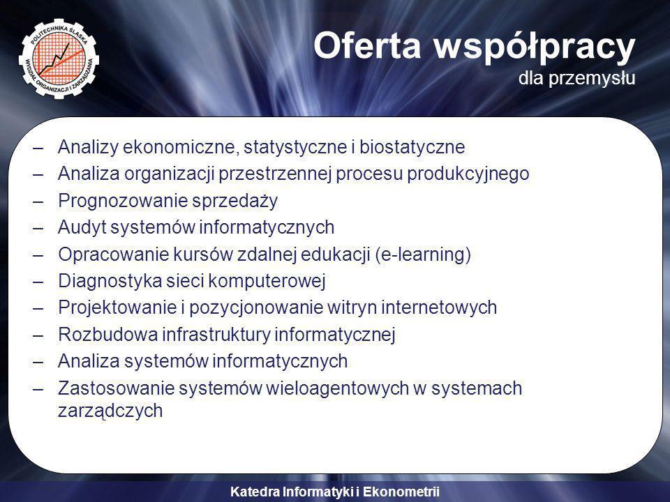 Oferta współpracy dla przemysłu
