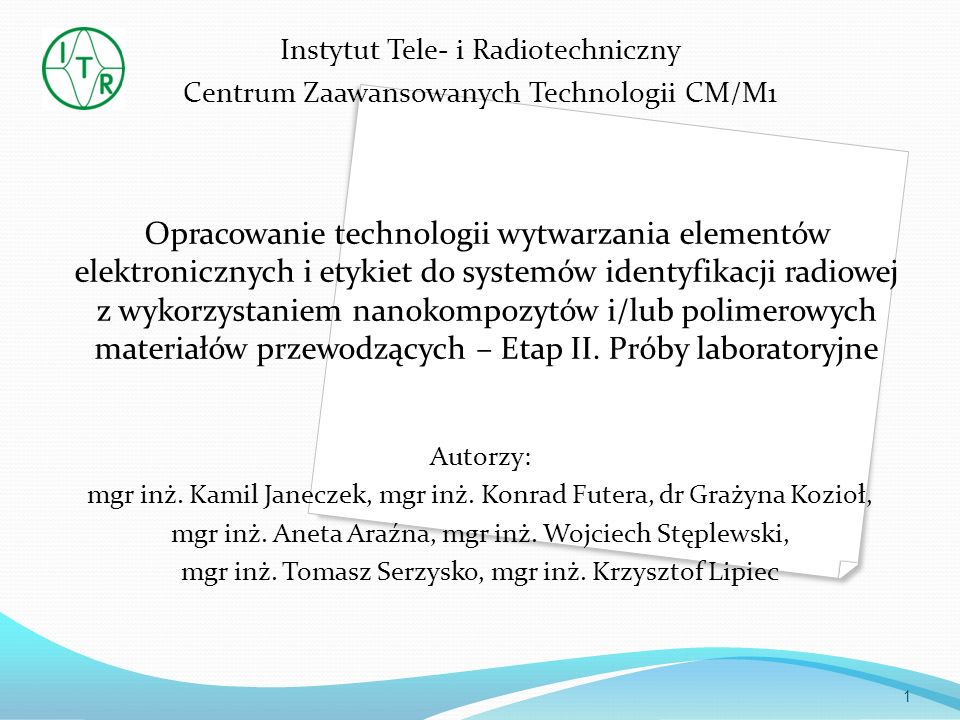 Instytut Tele- i Radiotechniczny